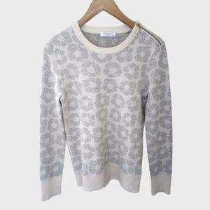 Equipment Ondine Cashmere Silk Sweater XS Daisy